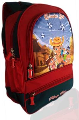Digital Bazar Russian Red Pollichathu Malappa Boy Son Cartoon School Bag (PROUDY FATHER) Edition Kids Backpack Waterproof School Bag