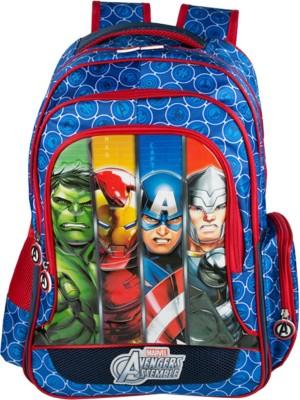 Marvel Avengers Group Art Faces School Bag