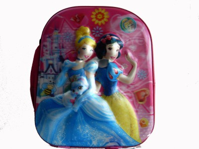 AYAANGLOBALMART School Bag(Pink, 15 inch)