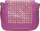 Bainsons School Bag (Purple, Gold, 8 inc...