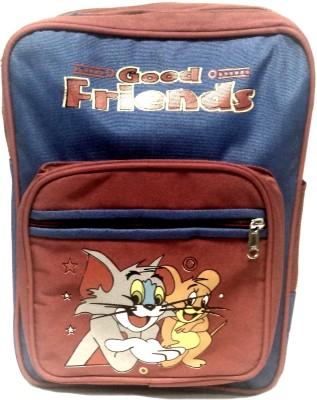 Riddi Impex Super Star Good Friend-02 Waterproof School Bag