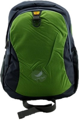 Gene Light Weight Green Waterproof School Bag