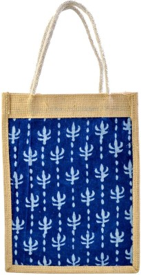 Mpkart Jute School Bag(Blue, 12 L)