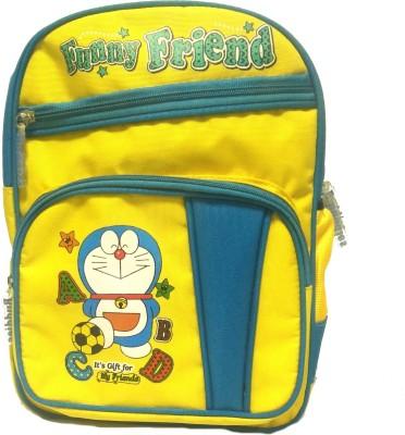 Riddi Impex Super Star Funny Friend Waterproof School Bag