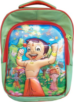 Majesty Chota Bheem Waterproof School Bag