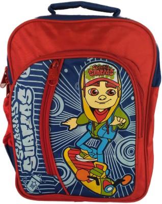 Digital Bazar Red Mamba Subway Surfer School Bag kids Backpack Waterproof School Bag