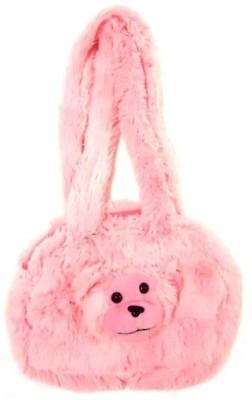 Hello Toys Plush Bags Shoulder Bag(Pink, 3 L)