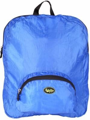 Be for Bag Single Zipper Blue Foldable School Bag