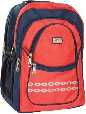 Compass String Series Multi-Pocketed (18 inch) Waterproof School Bag