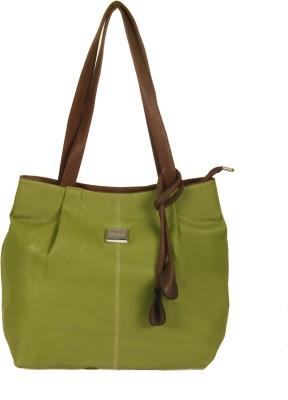 India Unltd Green Hobo Handbag School Bag