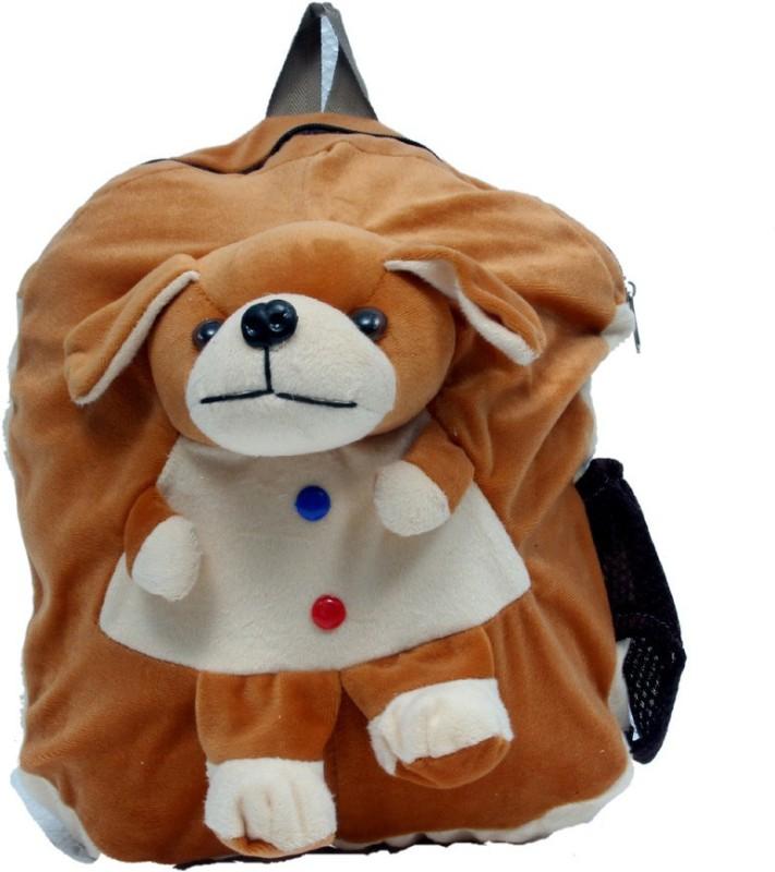 ARIP School Bag(Brown, 12 inch)