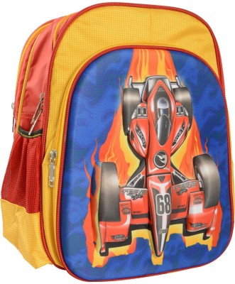 ARCADE Spacious 3D Front Design (15 inch) Waterproof School Bag
