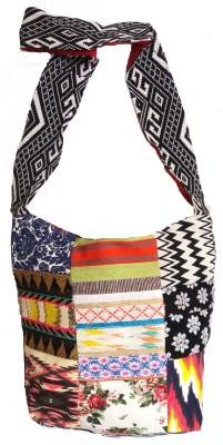 HR Handicrafts Shoulder Bag(Multicolor, 8 L)