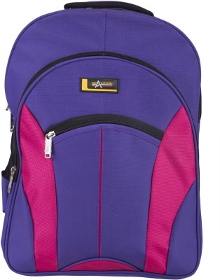 Alpha Nemesis Waterproof School Bag(Purple, 17 inch)