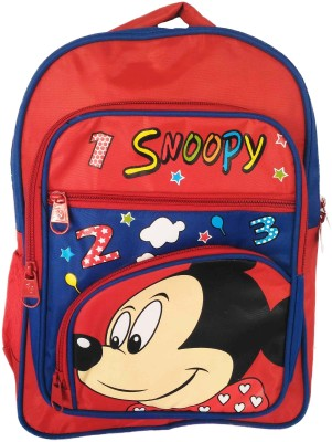Digital Bazar Russian Red MIRACLE MIRAAJ MOUSE (MALAYALAM)SPECIAL Edition Kids Backpack Waterproof School Bag