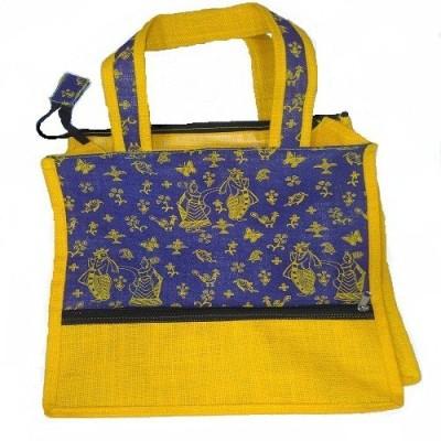KINAL GLOBAL CARE. Jute Bag Waterproof School Bag