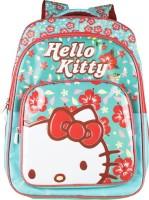 Hello Kitty Waterproof School Bag(Green, 16 inch)