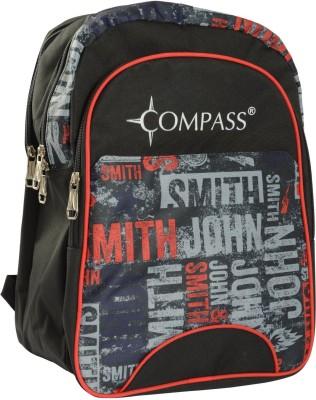 Compass Cool Prints Spacious (18 inch) Waterproof School Bag