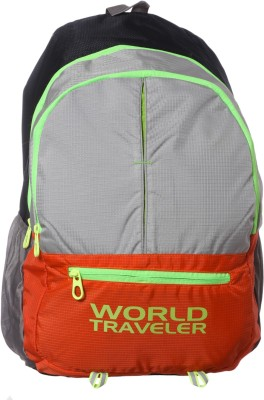 World Traveler Waterproof School Bag