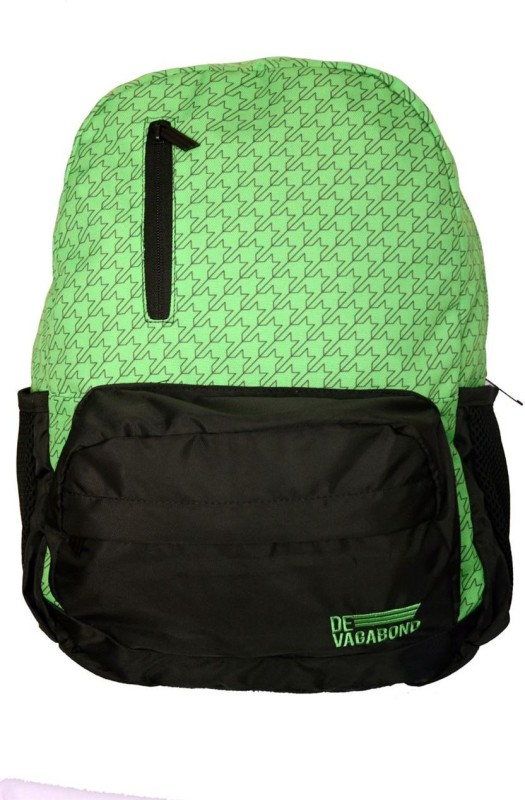 Devagabond Backpack(Green, 18 L)