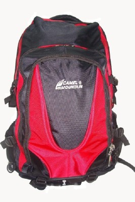 Camel Mountain Backpack Waterproof School Bag