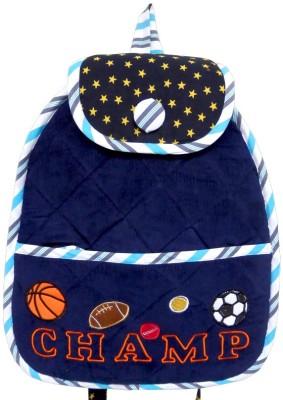 Little Pipal Champ Junior Backpack Blue Backpack
