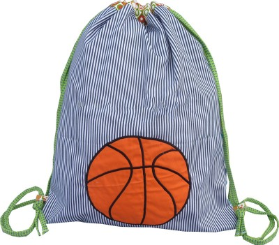Little Pipal Basketball Drawstring Backpack