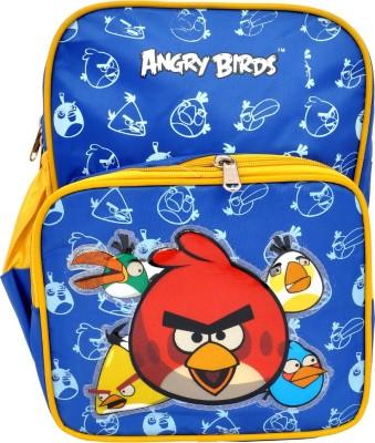 Priority Angry Birds Waterproof School Bag
