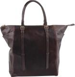 LeatherByte Messenger Bag (Brown, 8 inch...