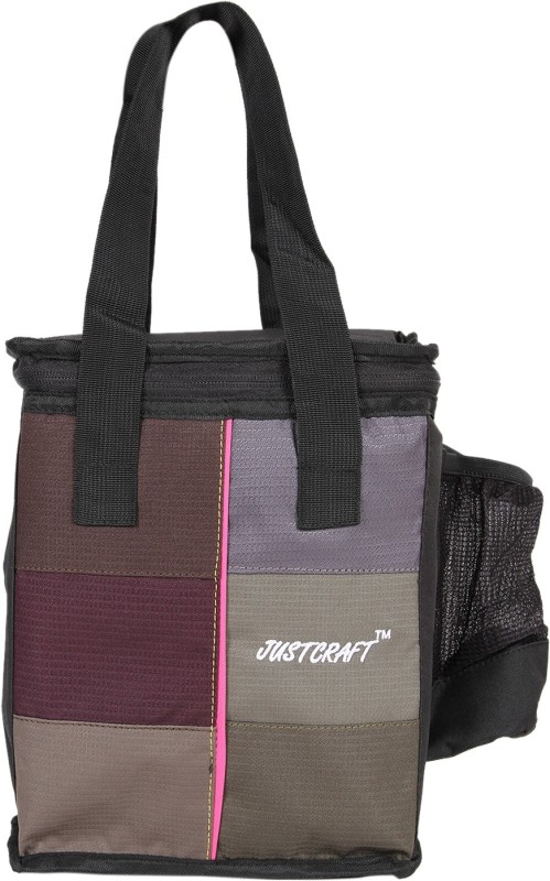 Justcraft Waterproof Lunch Bag(Brown, 10 L)