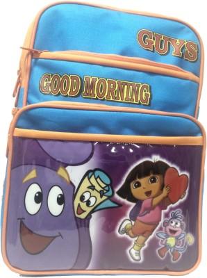 Riddi Impex Super Star Good Morning Waterproof School Bag