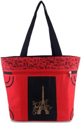 Diyaras Shopping Bag Shoulder Bag(Red, 10 L)