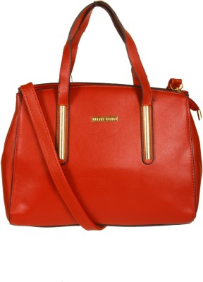 India Unltd Red Handbag School Bag