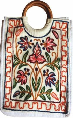 The Koshur Kul embroidery floral School Bag