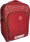 Apnav Waterproof Backpack (Red, 16 inch)