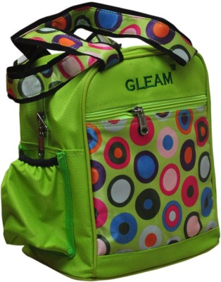 Gleam Mesh Padded Container Box Waterproof School Bag