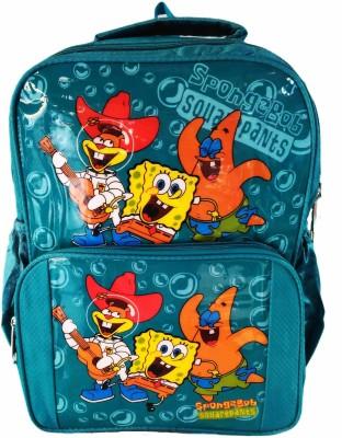 Digital Bazar Cartoon Sponge Bob backpack Waterproof School Bag