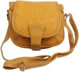 Belladona Women Yellow PU Sling Bag