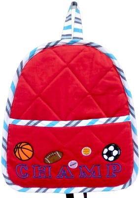 Little Pipal Champ Toddler Backpack Red Backpack