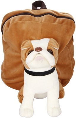 Vpra Mart Brown Bull Dog Soft School Bag