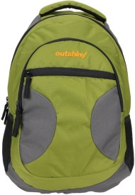 Outshiny Campus 0 Green Backpack 30 L Backpack(Multicolor)