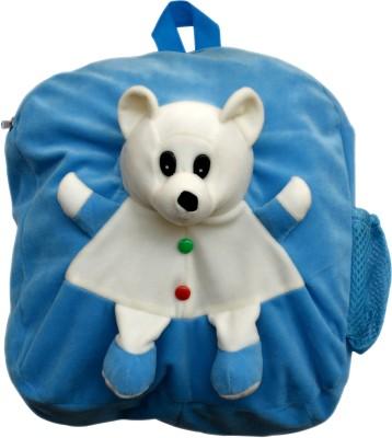 Funtastik Blue Teddy Design Kids Bag  - 40 cm