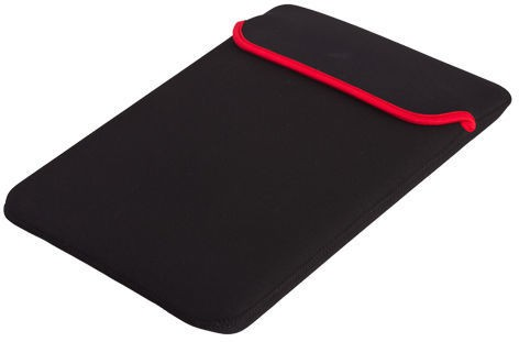 Axcess Reversible Black & Red Durable Neoprene Fit's 14.1 inch Fujitsu & other brand Laptop Laptop Bag