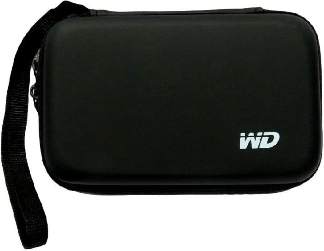 TechByte WD Hard Disk Drive Pouch case for 2.5