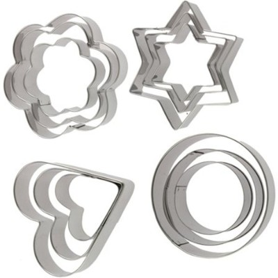 NAVISHA Cookie Cutter(Pack of 12)