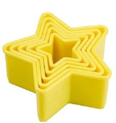 Agromech ABS Star Cookie Cutter(Pack of 5)