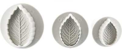Thw Rose Leaf Plunger Pastry Cutter
