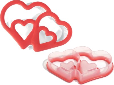 Silikomart Baby Cutter Double Heart Cookie Cutter