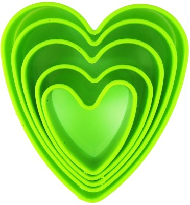 Agromech ABS Heart Cookie Cutter(Pack of 5)