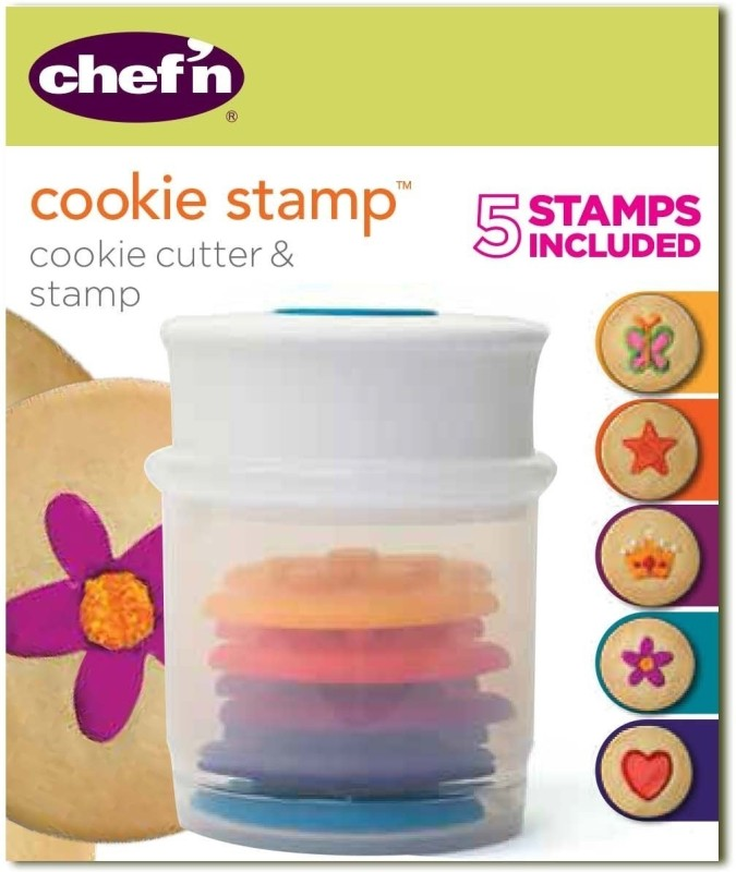 Chefn Stamp (Shapes) Cookie Cutter(Pack of 5)